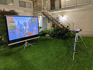 【WIFI/Bluetooth】Enjoy movie night! Good for watching movies outdoor! 5500 Lumens projector! for Sale in Torrance, CA