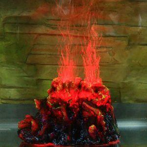 Aquarium Tank Air Pump Volcano Kit Red LED Bubble Oxygen Fresh Sea Water Fish for Sale in Hacienda Heights, CA
