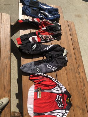 Dirt bike clothes for kids size 6/22 for Sale in San Dimas, CA