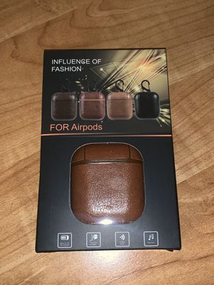 New Apple AirPods Case Brown for Sale in San Fernando, CA