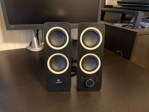 Logitech Z200 Computer Stereo Speakers for Sale in Glendale, AZ