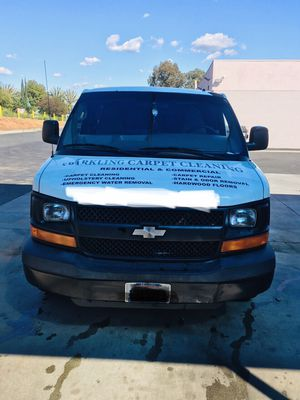 2007 Chevy Express Carpet Cleaning truckmount for Sale in El Cajon, CA