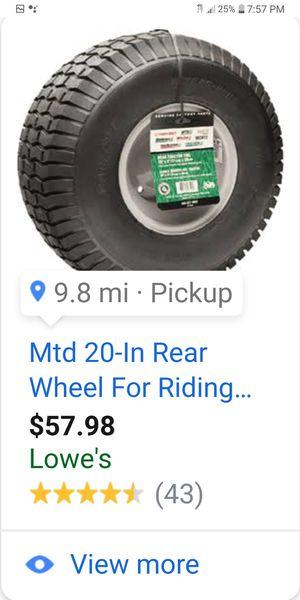 Lawn mower wheels for Sale in West Palm Beach, FL