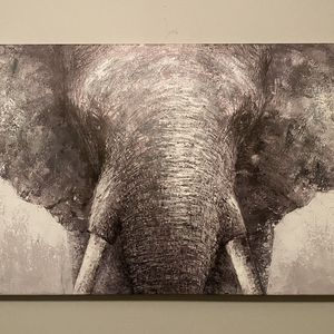 Elephant Painting On Canvas for Sale in Owings Mills, MD