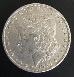 1884-P Silver Dollar Morgan 90% Silver Great Condition for Sale in Brea, CA