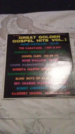 Vinyl Great Golden Gospel Hits Vol. 2 for Sale in Camden,  AL