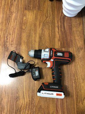 Black & Decker 20V Drill for Sale in Sterling, VA