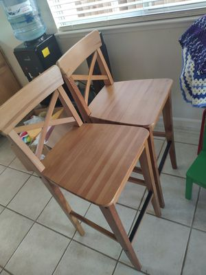 Bar chairs $10 for both for Sale in Hayward, CA