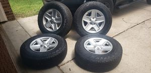 JEEP WRANGLER WHEELS AND TIRES for Sale in Pearland, TX
