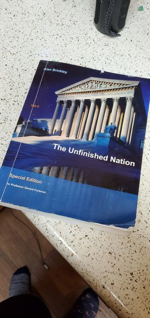 The Unfinished Nation for Sale in Riverside, CA