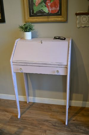 Pink Small Secretary Desk for Sale in San Diego, CA