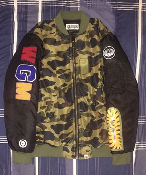 Authentic Bape Jacket for Sale in Elk Grove, CA