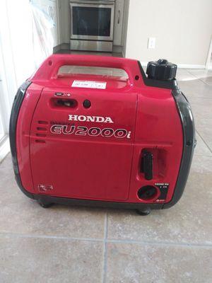 Honda generator eu2000 for Sale in Anaheim, CA
