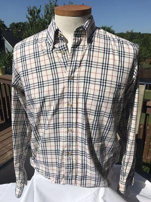 Women's Burberry Long Sleeve Shirt / Sz Medium for Sale in Mableton, GA