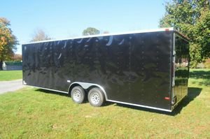 ENCLOSED TRAILERS ALL SIZES 20 24 28 32-SNOWMOBILE MOTORCYCLE CAR HAULER STORAGE MOVING for Sale in New York, NY