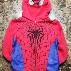 "Boys 🕷""The Amazing Spider-Man 2""🕷 Zipper Hoodie Size 7(LIKE NEW. ONLY MESSAGE IF SERIOUS BUYER) for Sale in Manteca, CA"