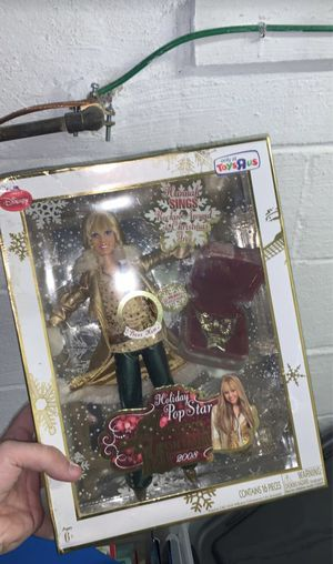 Hannah Montana Barbie 2008 limited edition for Sale in Ewing Township, NJ