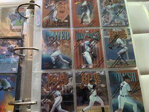 1997 Topps Finest Baseball Card Set In Binder Looks New for Sale in Fullerton, CA