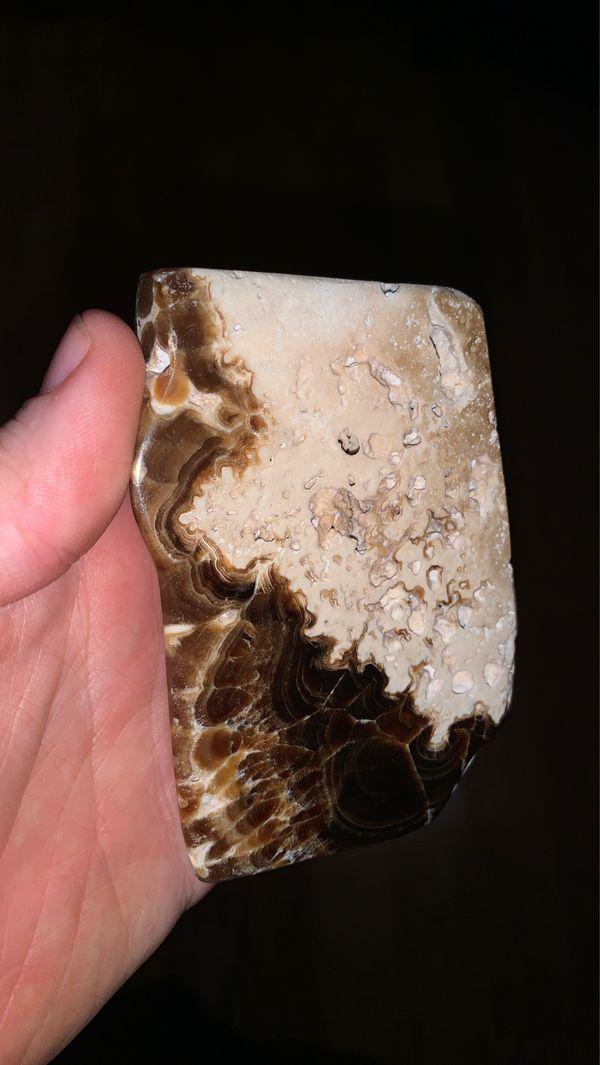 Chocolate Calcite Freeform