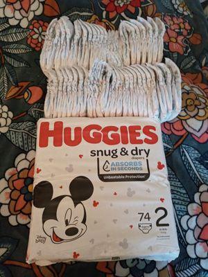 100+ size 2 diapers for Sale in Woodbridge, VA