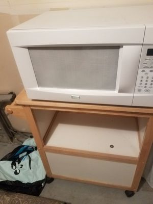 Microwave and stand for Sale in Lacey, WA