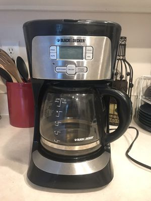 Black and Decker Coffee Maker for Sale in Dublin, OH