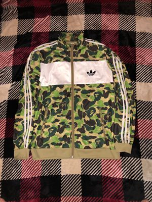 BAPE ADIDAS FIREBIRD JACKET for Sale in Baltimore, MD