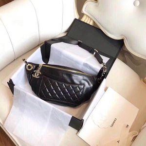 "CC classic calfskin waist bag fanny pack belt bag ""banane"" for Sale in San Jose, CA"