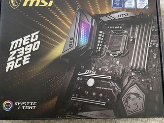 MSI Meg Z390 Motherboard for Sale in Corona,  CA