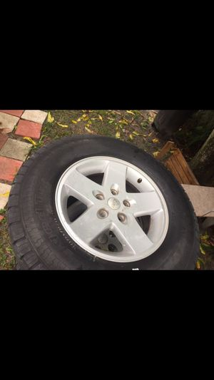 2009 Jeep wheels x5 for Sale in Miami Lakes, FL