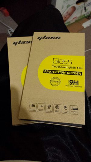 Two s6 edge plus screen protectors for Sale in Scottsdale, AZ