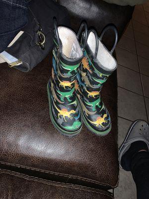 Dinosaur rain boots for Sale in Ontario, CA