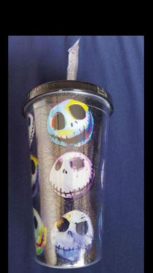 Brand New Nightmare before Christmas Tumbler with Straw for Sale in Norco, CA