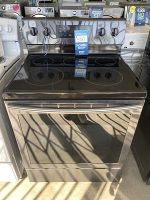 SAMSUNG ELECTRIC STOVE for Sale in San Bernardino, CA