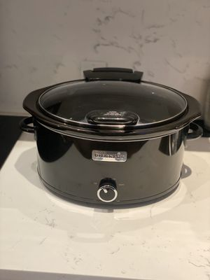 Crock-Pot 7-Quart Manual Slow Cooker, Black for Sale in Washington, DC