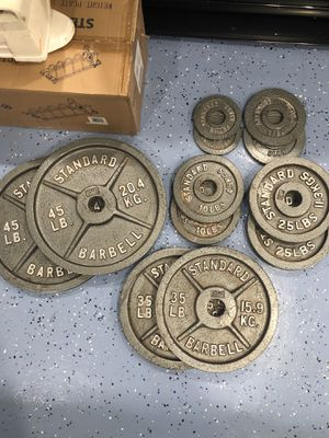 Weight plates for Sale in Dallas, TX