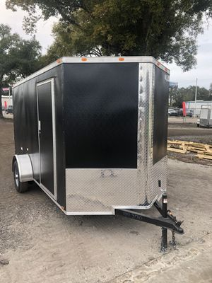 Enclosed trailer 6x12SA advance series @ Brothers trailers for Sale in Tampa, FL