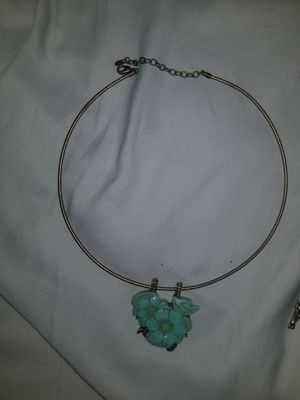 Antique Necklace wirh Turquoise pendant for Sale in Huntington Beach, CA