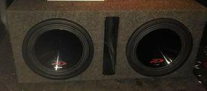 """2x 12"""" Alpine type r dvc subs..3000 watts each!! for Sale in Spokane, WA"""