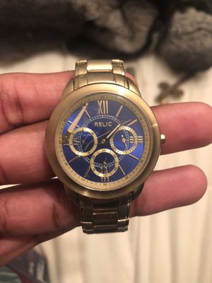Gold Relic Watch for Sale in Richmond, VA