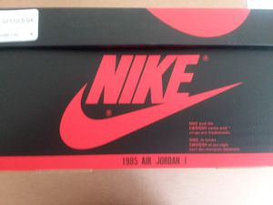 AIR JORDAN RETRO 1 SIZE 13 NEW for Sale in McHenry, IL