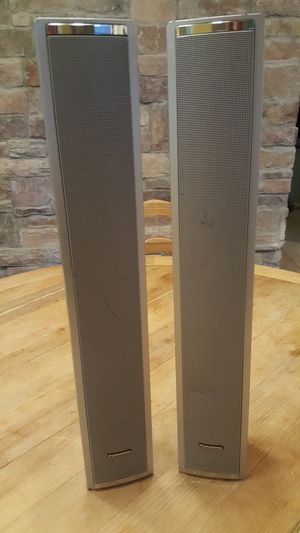 2 pamisonic speakers for Sale in Chandler, AZ