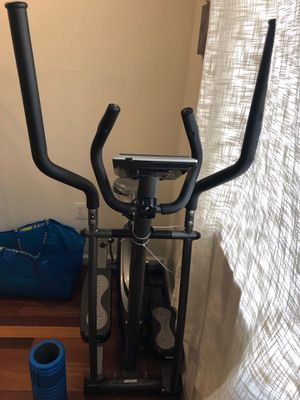 Elliptical machine and resistance bands for Sale in Washington, DC