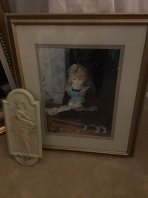 """20 1/2 x 24"""". Framed picture with glass cover. for Sale in Rockville, MD"""