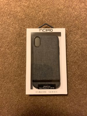 Incipio Esquire Series Case for iPhone X and XS for Sale in Seattle, WA