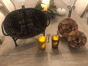 5 piece fall decor for Sale in Davie, FL