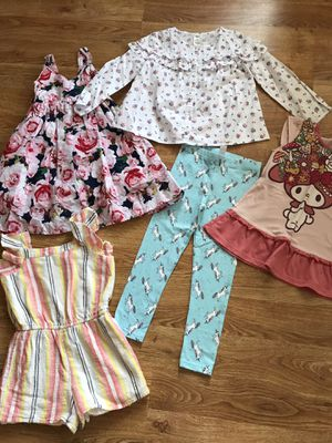 Girls small lot! 4-5 years Gap, H&M, Carter's, Oshkosh, UNIQLO for Sale in Paramount, CA