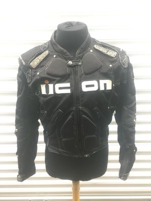 ICON Timax Titanium Armour Motorcycle Jacket for Sale in Vallejo, CA