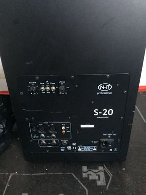 NHT S-20 Subwoofer speaker for Sale in San Francisco, CA