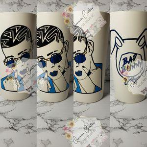 Bad bunny custom cup for Sale in Phoenix, AZ